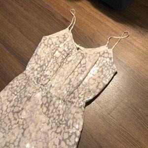 ⭐️NWOT Rebecca Taylor Sequin Snakeskin Dress 0